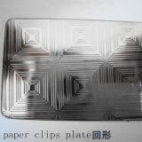 Piatto impresso dell'acciaio inossidabile di ASTM