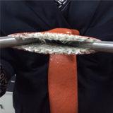 Силиконовая резина стеклоткани крышки для шланга