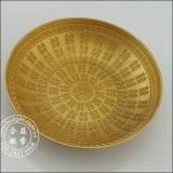 3D Gold Bowl voor Wedding Feast, Decoration Crafts (gzhy-hd-080)