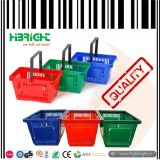 Cesta plástica para hipermercados e lojas