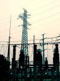 Toren van het Staal van de transmissie van de Hete ONDERDOMPELING van de uitvoer de Gegalvaniseerde