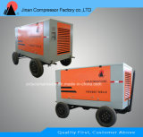 Diesel Drive Portable Double Screw Air Cooled Compressor