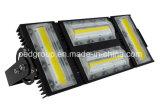 AC 90-305V 110lm/W Pf>0.95の新しい240W穂軸LEDのフラッドランプ