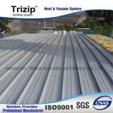 Panneaux de toit en aluminium isolés.