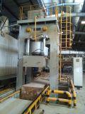 presse 9000t hydraulique pour appuyer le panneau de la colle de fibre--Bâti de plaque en acier