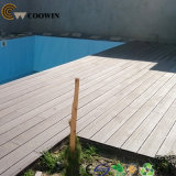 Decking composto de madeira China da piscina do café