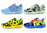 Обувь изготовленный на заказ конструкции идущих ботинок людей сетки новой атлетическая