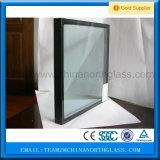 二重窓ガラスの緩和されたガラス