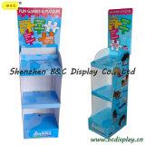 SGS (B&C-A018)를 가진 애완 동물 Food Cardboard Funny Racks/Paper Display Stand