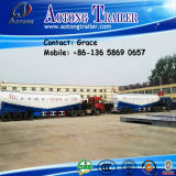 Tri-Axles 60 Ton Bulk Cement Tanker Semi-Trailer in Dubai, 50cbm Bulk Cement Truck Trailer in Dubai (Datenträger wahlweise)