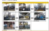 모충, Komatsu, 히타치, Doosan, Volvo, Hyundai 굴착기 및 불도저를 위한 3배 Gourser 궤도 단화