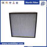 Kundenspezifische Leistung gefalteter Panel-Luftfilter HVAC, industrieller HEPA Filter