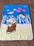 100%年のポリエステルミンクの赤ん坊毛布