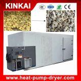 Sala de secar para uso industrial de vegetais, equipamento de secagem de gengibre / alho