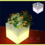 Cube pote de flores para a Sala de Armazenagem de cubos de decoração do Cubo