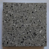 Combinação de preto-branco piso mosaicos de azulejos, mosaicos de cerâmica para interior e exterior, piso de mosaico de pedra