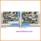 CCTVのビデオセキュリティシステムのためのGv 800 DVRのカード16チャネル