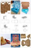 Автоматическая плиты умирают режущие и морщин картонная коробка бумагоделательной машины