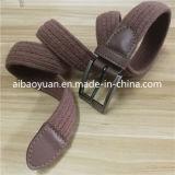 Cinghia di vita elastica Braided del lint di Eleglant degli accessori di modo