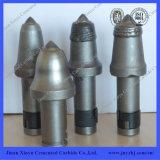 Kontinuierliches Kohlenmaschinen-Bohrgerät-Hartmetall spitzt Bergbau-Bit