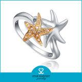 Funny Anaimal anillo plata Venta al por mayor (R-0039)