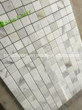Mosaico de mármol blanco de Calacatta para el azulejo de la pared