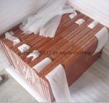 Проступи лестницы гранита Tianshan красные, рослост, плитки, слябы