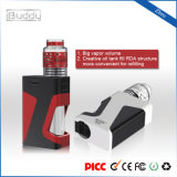 Ibuddy Zbro 1300mAh 7.0ml 기름 병 Rda 구조 Vape Mods