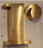 3D du canal inverse en laiton de lettres en acier inoxydable (JT-AC)