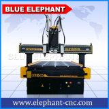 中国の組合せの木工業機械、マルチヘッド木製CNCのルーター1325年の機械製造会社