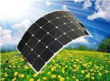100W ETFE elástico suave y flexible flexible plegable Módulo PV de Panel Solar Sunpower