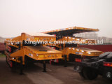 China Container Semirremolque Skelete / Flatbed