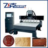 Máquina do relevo do CNC, 2D, máquina de 3D Woodengraving