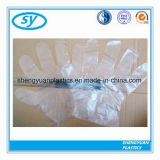 Guanto di plastica a gettare del PE di vendita diretta della fabbrica