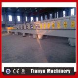 Rullo del portello della saracinesca dell'unità di elaborazione che si forma facendo macchinario