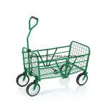 Carrinho de carroçaria dobrável de jardim de serviço pesado
