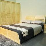 固体木のベッドの現代ダブル・ベッド(M-X2311)