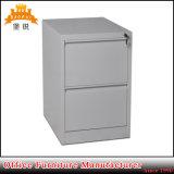 Gabinete de arquivo da gaveta do metal de 2 camadas com preço barato