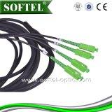 Одномодовый Sc бронированные Patch кабель питания