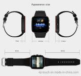 Téléphone intelligent de montre de système androïde avec GPS+WiFi