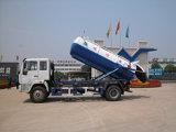 최신 판매 Sinotruk 4X2 하수 오물 트럭