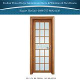 Puertas de oscilación de aluminio clásicas del estilo chino de Foshan para la decoración interior