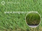 herbe artificielle de sensation de 40mm de jardin normal d'horizontal (SUNQ-AL00058-1) I