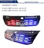 Rote Grill-Leuchte des Blau-LED