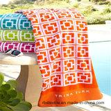 Напечатанное конкурентоспособной ценой полотенце пляжа велюра