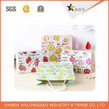 顧客用高品質の油絵パターン袋の紙袋