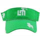 100% poliéster tecido respirável Chapéu de visor de sol de golfe (TRNV096)