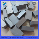 Hard Yg6 Material Cemented Carbide Brazing Tips C122