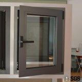 Finestra di alluminio della stoffa per tendine di profilo della rottura termica di alta qualità con la multi serratura K04002