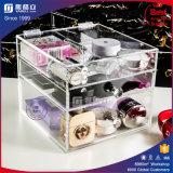 Transparente 5 gavetas Maquiagem de moda Maquê de beleza caixa